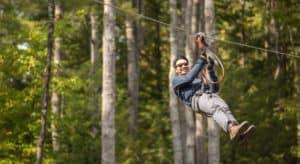 Tree To tree Idaho Adventure Course Zipline