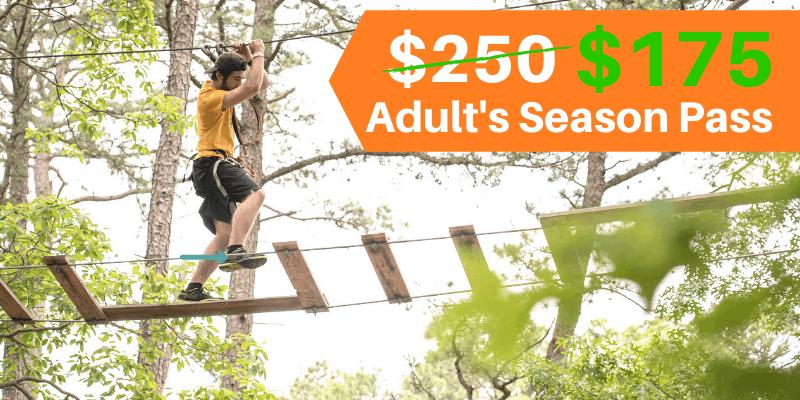 Adults Course Season Passes 30% off thru 12/7/2020